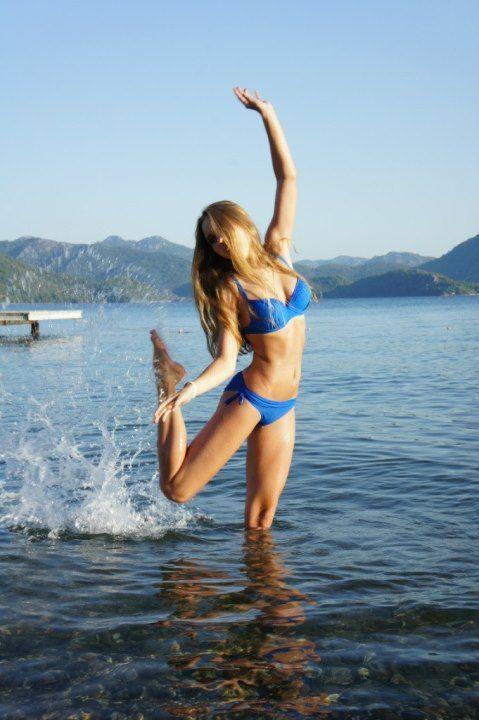 Дарья Пицик фото в купальнике