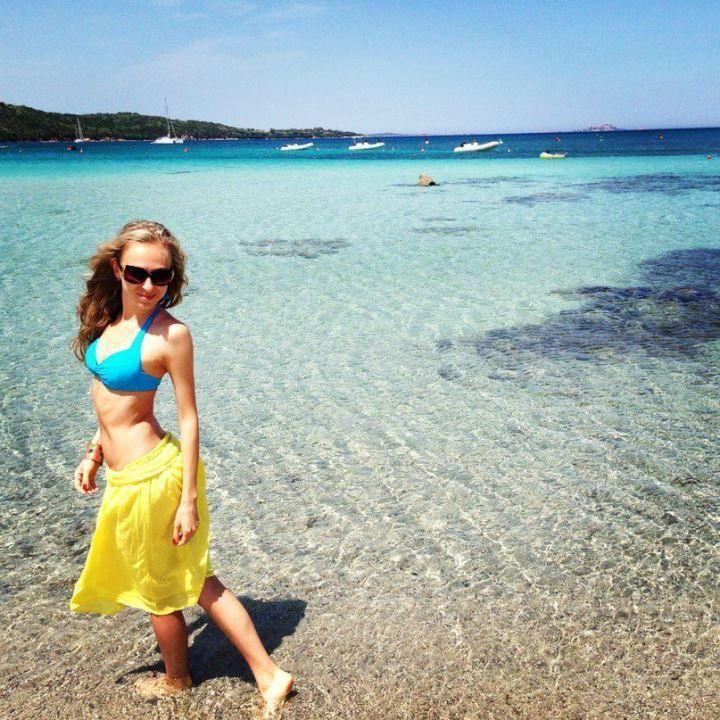 Екатерина Моргунова в купальнике