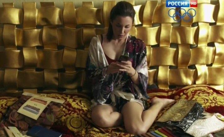 Евгения Чиркова в нижнем белье