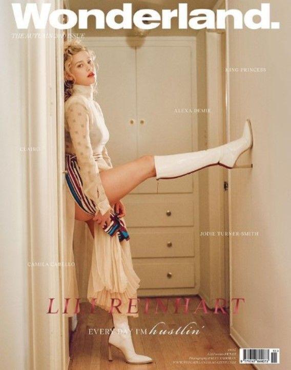 Лили Рейнхарт на обложке журнала