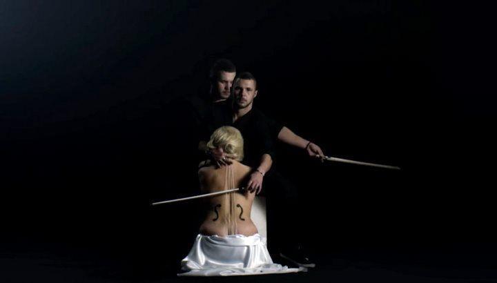 голая Мария Максакова в клипе