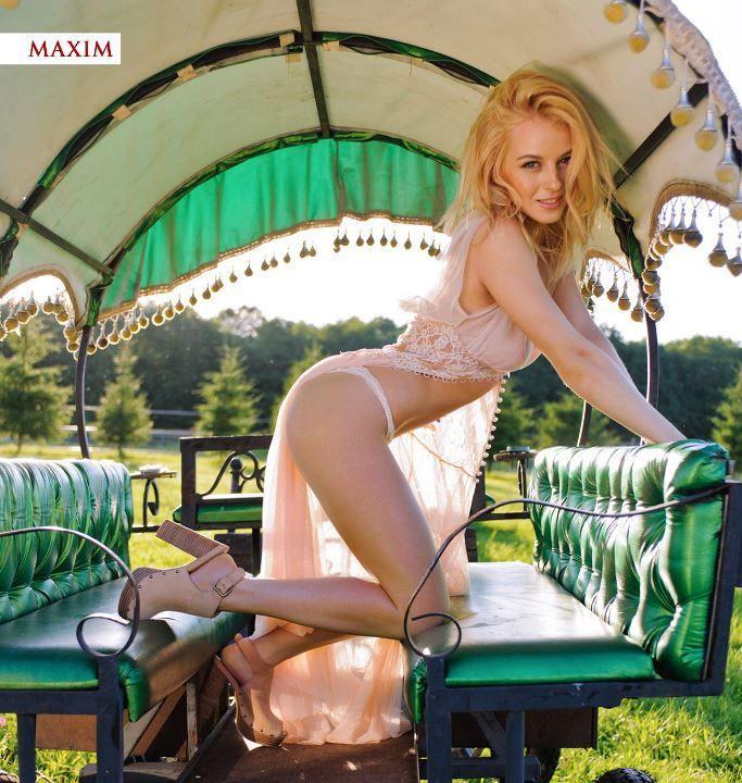 Ульяна Тригубчак в журнале Максим