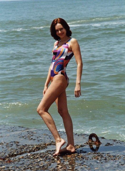 Ирина Безрукова в купальнике