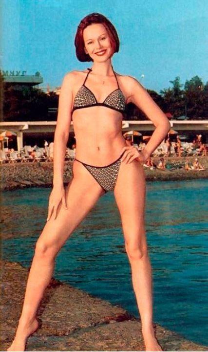 Ирина Безрукова в бикини