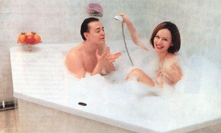 голые Сергей и Ирина Безруковы
