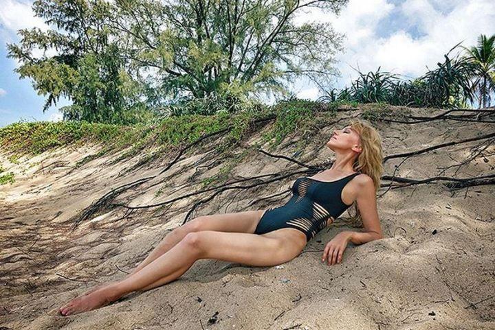 Ирина Нельсон фото в купальнике