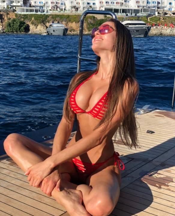 Маргарита Паша в бикини