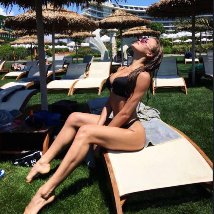 Маргарита Паша в купальнике