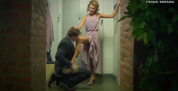 голые ножки Марины Петренко