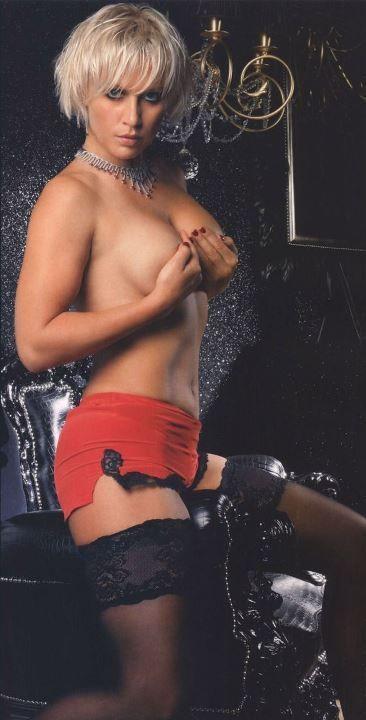 Наталья Рагозина с голой грудью