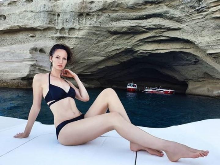 Екатерина Лисина в купальнике