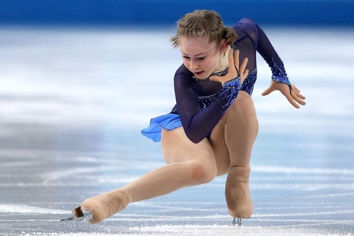 Юлия Липницкая голая