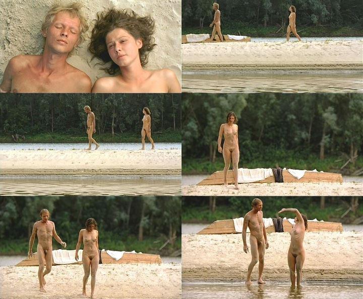 голая Полина Агуреева на пляже