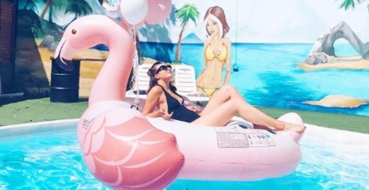 Дарья Рыбак фото в купальнике